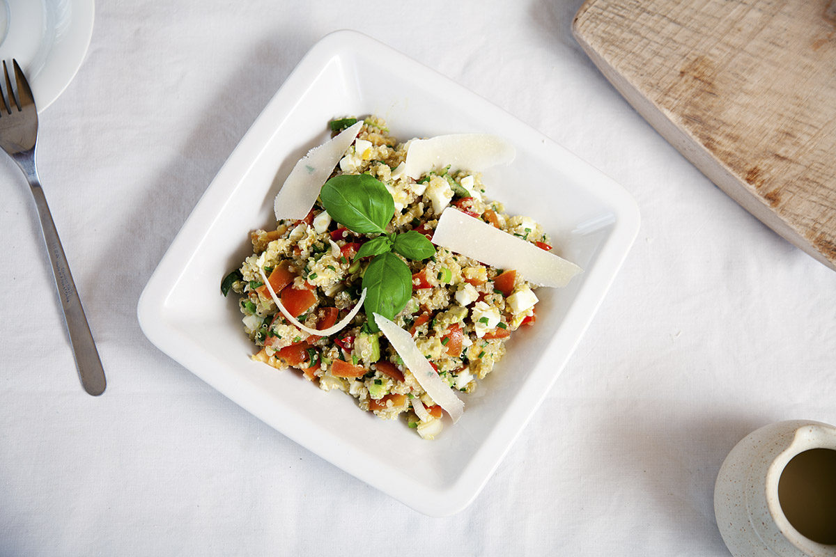 Salát z quinoy