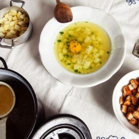 Recept na česnečku